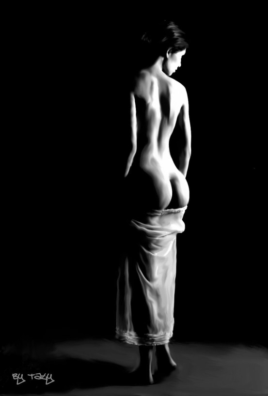 Nude art Classic Black and White